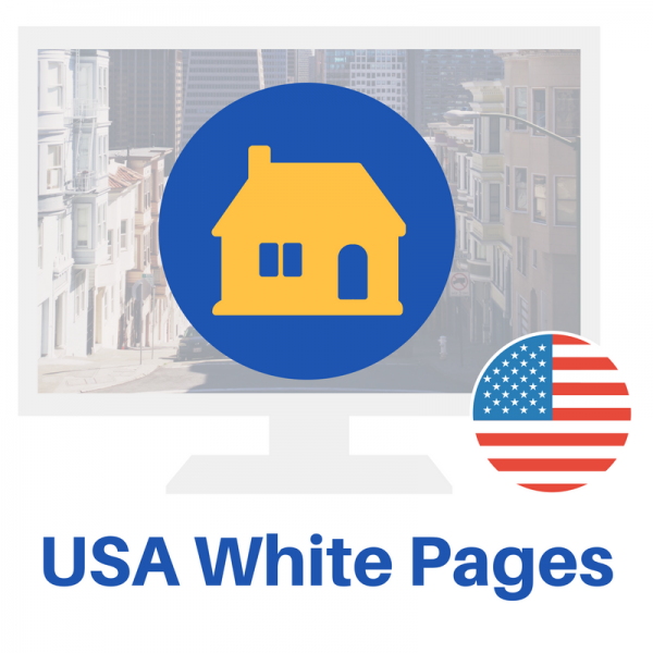The USA White Pages database is great for home service professionals, like Roofers, Plumbers and other small business professionals.
